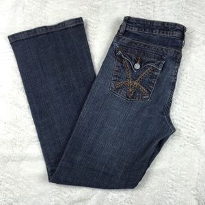 Kut From The Kloth Distressed Jeans Flap Pockets